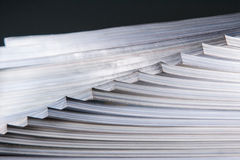 Abstract stack of book Royalty Free Stock Photos