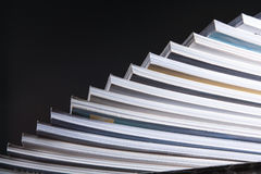 Abstract stack of book Stock Photos