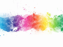 Abstract stain watercolors Stock Photos