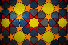 Abstract stained-glass background Stock Photography