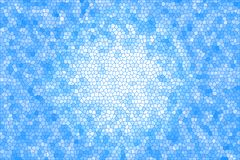 Abstract stained glass background. Graphic design Stock Photo