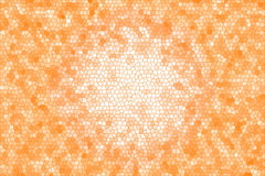 Abstract stained glass background. Orange abstract stained glass background Royalty Free Stock Photo