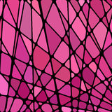 Abstract  stained-glass mosaic background Stock Photography
