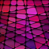 Abstract  stained-glass mosaic background Royalty Free Stock Photos