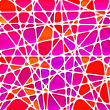 Abstract  stained-glass mosaic background Royalty Free Stock Photography