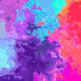 Abstract stained pattern background - neon pastel full color spectrum rainbow. Abstract stained pattern texture background - neon pastel full color spectrum Royalty Free Stock Images