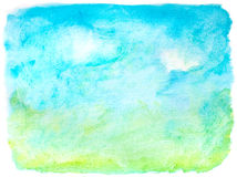 Abstract stains landscape Stock Images