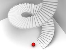 Abstract Staircase Background Royalty Free Stock Image