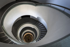Abstract staircase in modern building Stock Photography