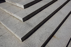 Abstract stairs , abstract steps, stairs in the city, granite stairs,wIde stone stairway often seen on monuments and Stock Photography