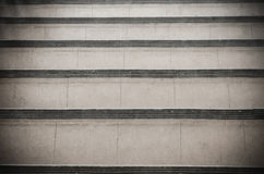 Abstract stairs in black and white Royalty Free Stock Images