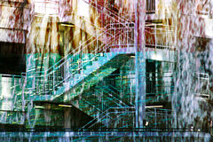 Abstract Stairways Royalty Free Stock Image
