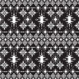 Abstract stammenpatroon, herhaalde etnische elementen, Stock Foto's