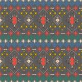 Abstract stammenpatroon, herhaalde etnische elementen, Royalty-vrije Stock Fotografie