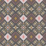 Abstract stammenpatroon, herhaalde etnische elementen, Stock Fotografie
