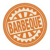 Abstract stamp or label with the text Barbeque written inside. Vector illustration vector illustration