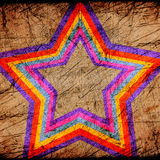 Abstract star Stock Image
