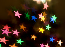 Abstract Star Background Stock Photography