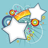 Abstract star  background Royalty Free Stock Photo