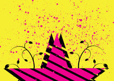 Abstract star background. Abstract pop art star background Royalty Free Stock Photography