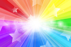 Abstract star background. Abstract background, Beautiful rays of light and star shape Royalty Free Stock Photos