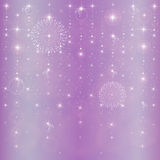 Abstract star background. New Year s stars abstract background Stock Photo