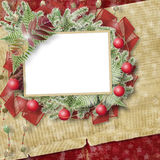 Abstract star background with paper frame Stock Image