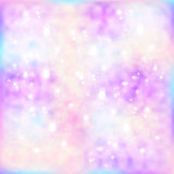 Abstract star background. With particles Stock Photo