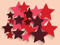 Abstract star background vector Royalty Free Stock Photography