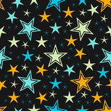 Abstract star background. Vector Royalty Free Stock Images