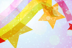 Abstract star background and wallpaper Royalty Free Stock Image