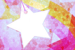Abstract star background and wallpaper Royalty Free Stock Photos