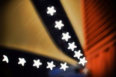 Abstract star bokeh stock photos