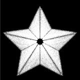 Abstract star. Design element. Stock Photos