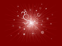 Abstract star explosion Stock Image