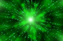 Abstract star explosion nebula Royalty Free Stock Photo