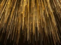 Abstract Star Falling Lights Streak Elegant Background.  Stock Photo