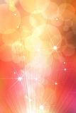 Abstract star golden background Royalty Free Stock Images