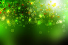 Abstract star light background Stock Images