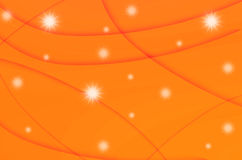 Abstract star with orange background Stock Photos