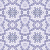 Abstract star pattern purple gray. Abstract geometric seamless background. Regular star pattern in purple and gray shades on pastel lilac Royalty Free Stock Images