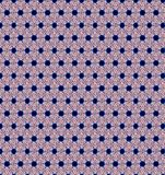 Abstract star pink color pattern wallpaper Stock Images