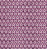 Abstract star pink color pattern wallpaper Stock Photos