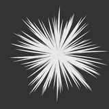 Abstract Star Explosion. Abstract Star Rays, Holiday Firework, Dynamite Burst, Sun Burst, Star Burst Sunshine, Radiating From the Center of Beams, Abstract Royalty Free Stock Image
