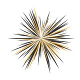 Abstract Star Explosion. Abstract Star Rays, Holiday Firework, Dynamite Burst, Sun Burst, Star Burst Sunshine, Radiating From the Center of Beams, Abstract Royalty Free Stock Photography