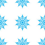 Abstract star seamless pattern Stock Photos