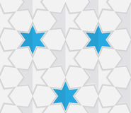 Abstract Star Seamless Pattern Background Royalty Free Stock Photography