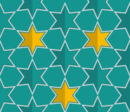 Abstract Star Seamless Pattern Background Royalty Free Stock Image