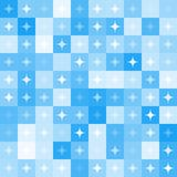 Abstract star shape mosaic background Stock Photos