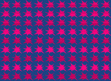 Abstract star shape seamless pattern Stock Photo